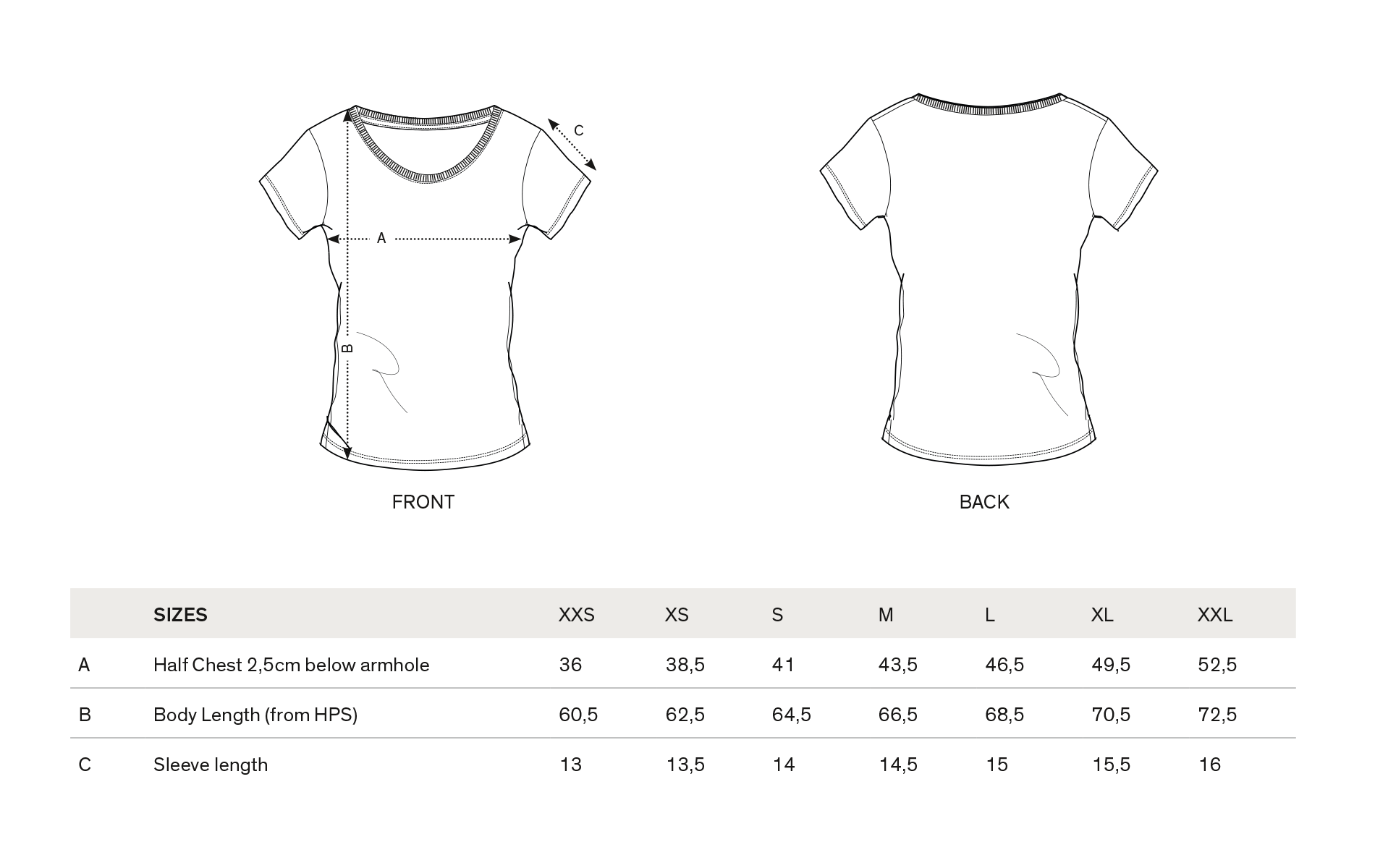 Shirt design measurements - T Shirt Zukunft Braucht Kein Z Gern Anthracite